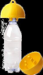 Killa-Wespenvanger met PET-fles. In een handomdraai elke ruimte wespenvrij